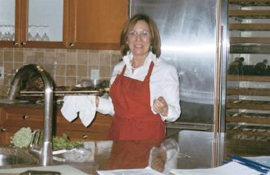 cooking class with Linda Arpino